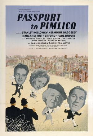1949 Passport to Pimlico - Pasaporte para Pimlico (ing) 01