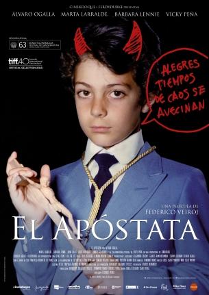 Poster El apóstata A4